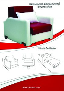 bahadır refakatçi koltuğu